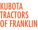 Kubota Tractors of Franklin Logo
